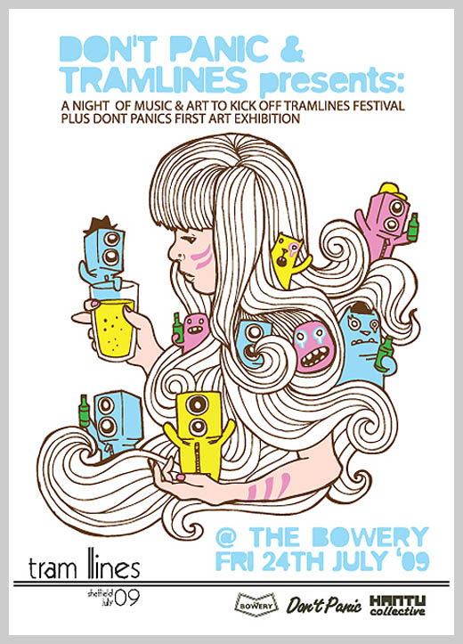Event Flyer Design - The Bowery Sheffield