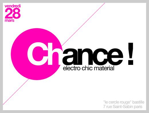 Event Flyer Design - Chance Parties