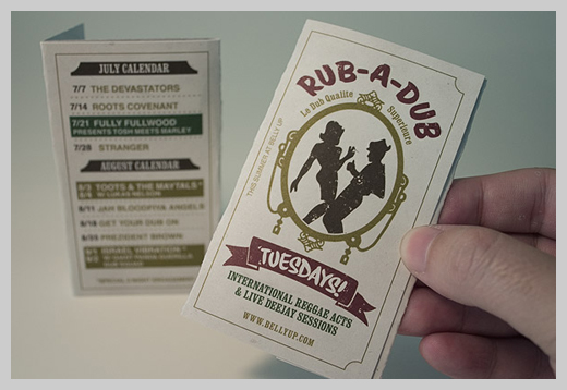 Event Flyer Design - Rub A Dub Tuesdays