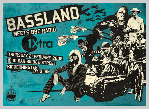 Event Flyer Design - Bassland