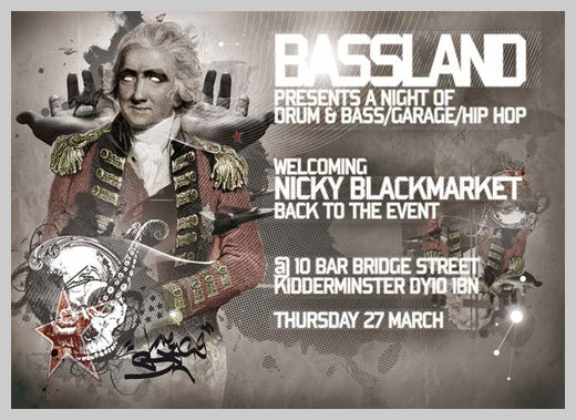 Event Flyer Design - Bassland 2