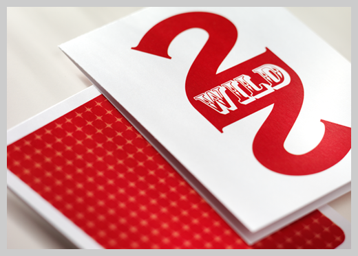 Sample Party Invitations - Deuces Wild