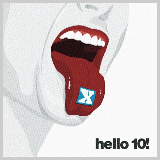 Sample Party Invitations - Hello 10!