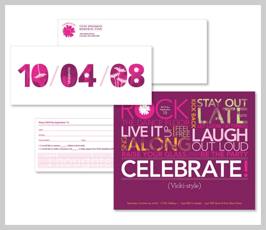 Sample Party Invitations - Vicki Spearman Foundation