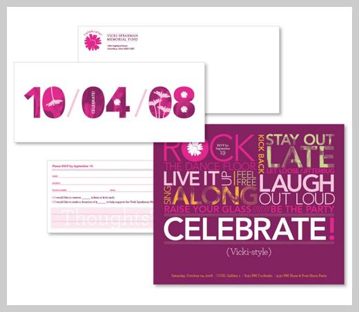Sample Party Invitations - Vicki Spearman Foundation