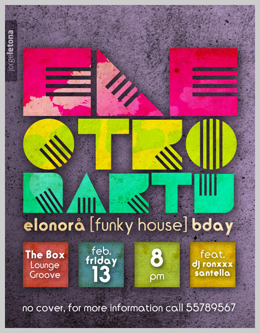 Sample Party Invitations - ELE.ctronic Party