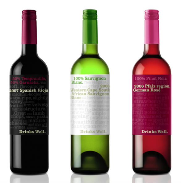 Bottle Label Designs - Drinks Well