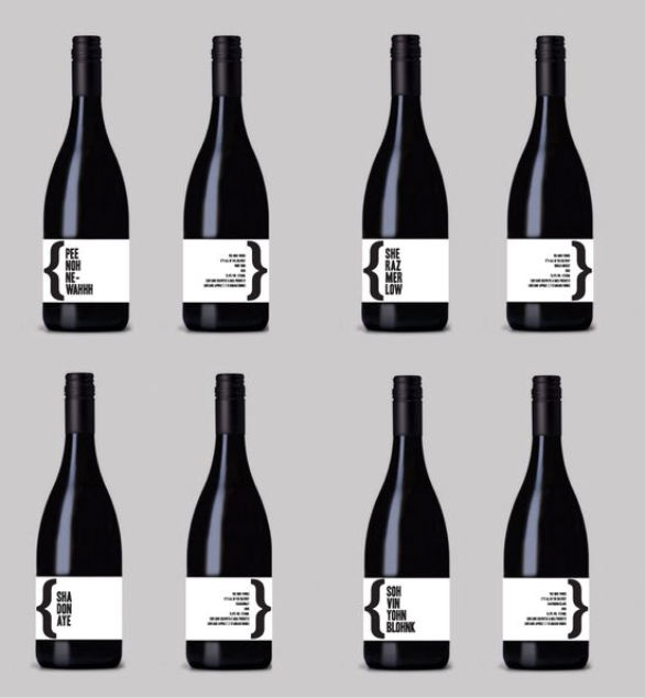 Bottle Label Designs - Vee Noh