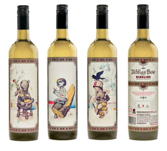 Bottle Label Designs - Southern Gothic Wine