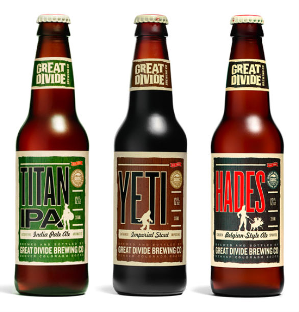 Bottle Label Designs - Great Divide Brewing