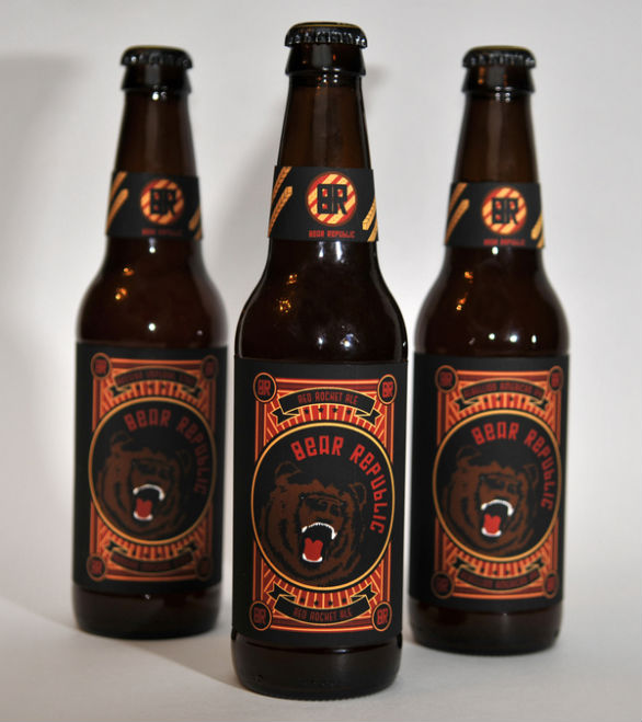 Bottle Label Designs - Bear Republic