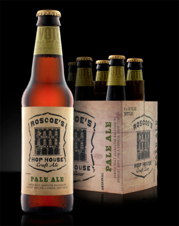 Bottle Label Designs - Roscoes