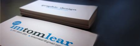 Business Card Marketing - Tom Lear