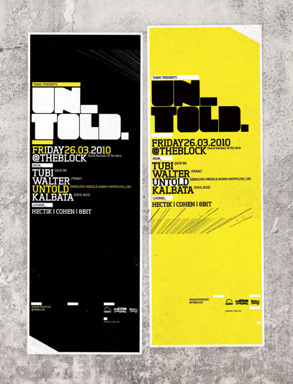 Poster Design Inspiration - UNTOLD