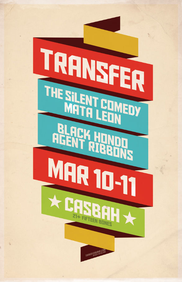 Poster Design Inspiration - Transfer Casbah