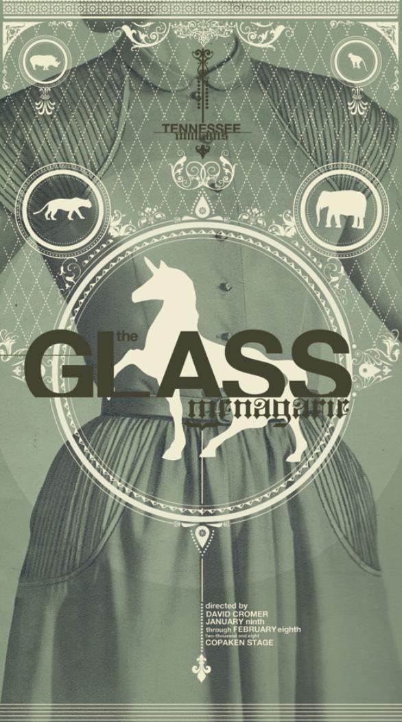 Poster Design Inspiration - Glass Menagerie