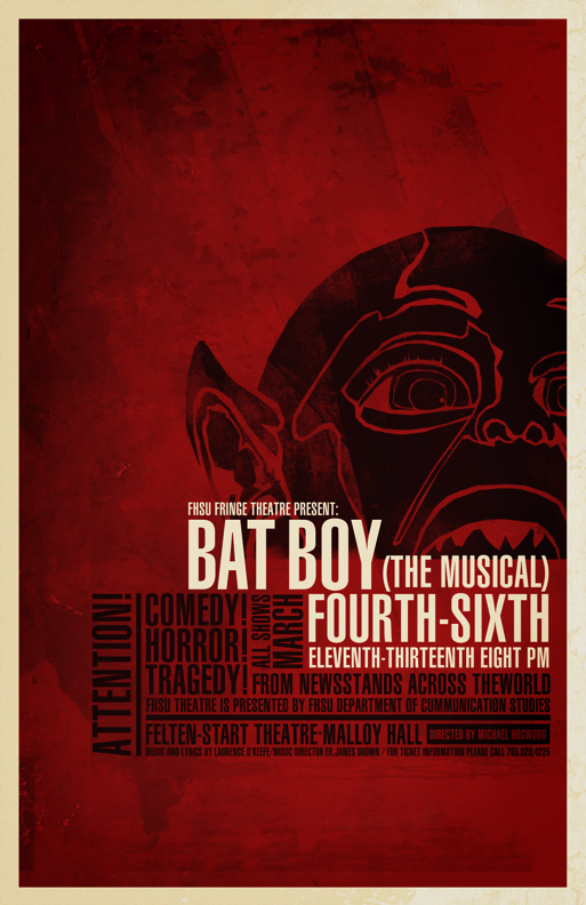 Poster Design Inspiration - Bat Boy
