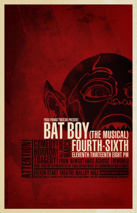 Poster Design Inspiration - Bat Boy