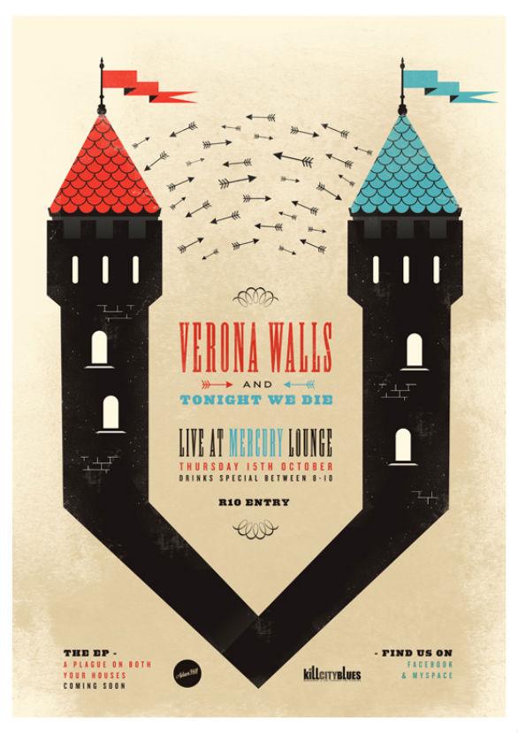 Poster Design Inspiration - Verona Walls