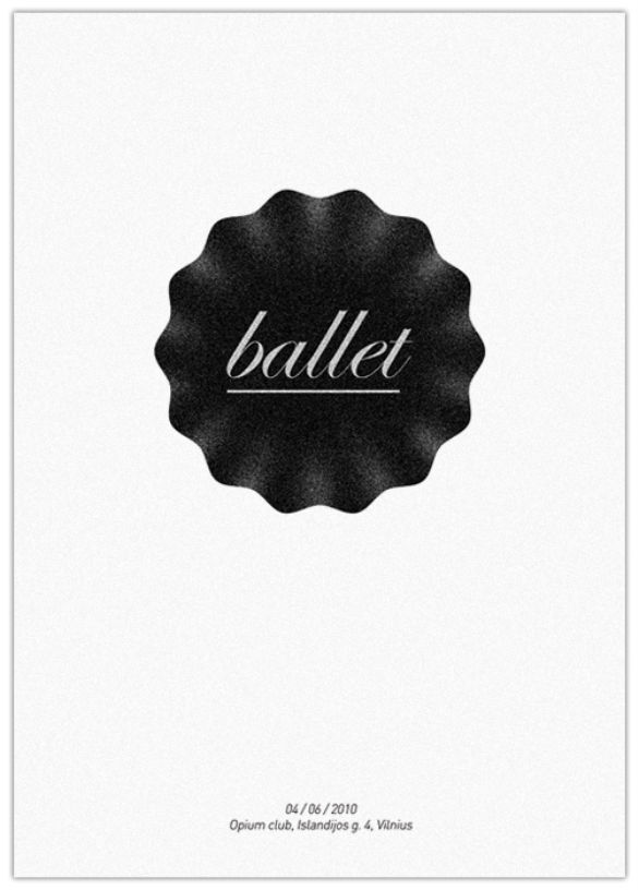 Poster Design Inspiration - Ballet
