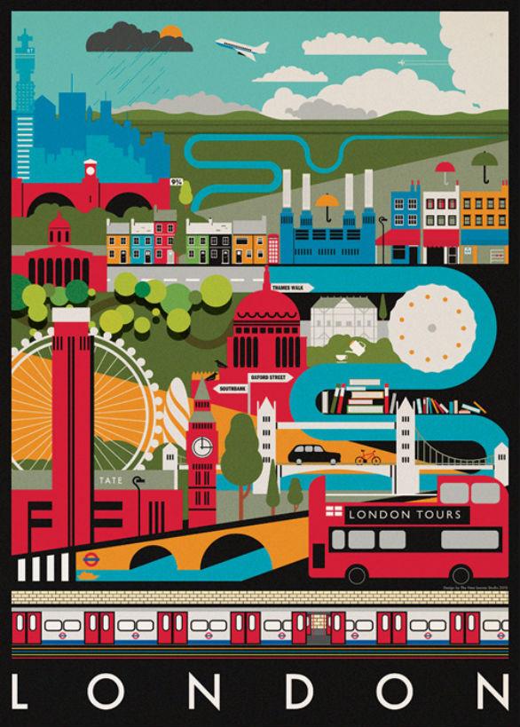 Poster Design Inspiration - London