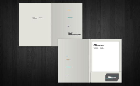 Presentation Folder Designs - 70c Design Studio