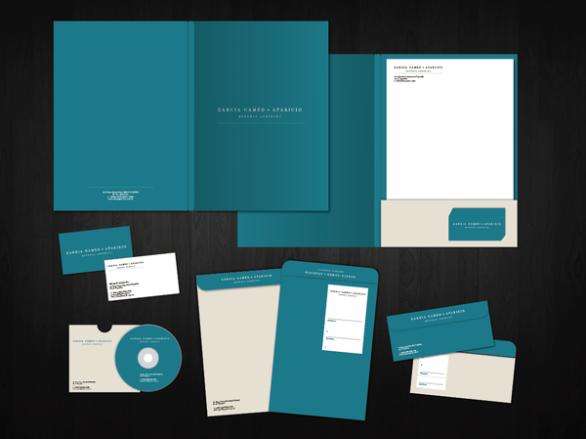 Presentation Folder Designs - Garcia Camed