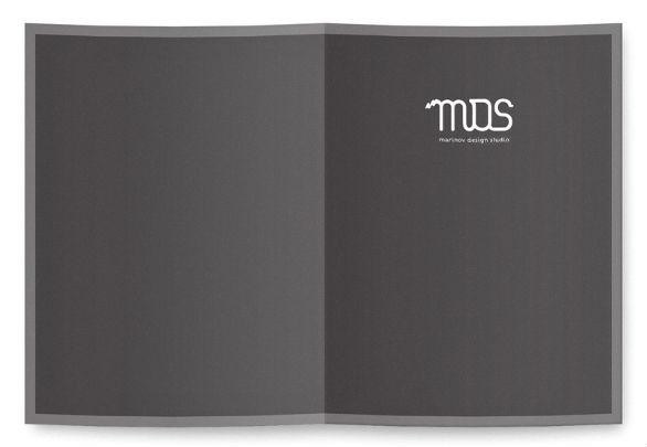 Presentation Folder Designs - Marinov Design