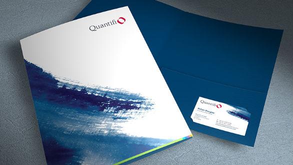 Presentation Folder Designs - Quantifi