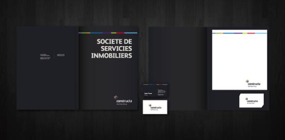 Presentation Folder Designs - Constructa
