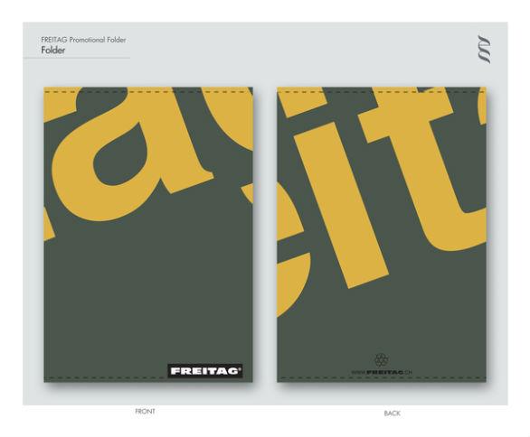 Presentation Folder Designs - Freitag