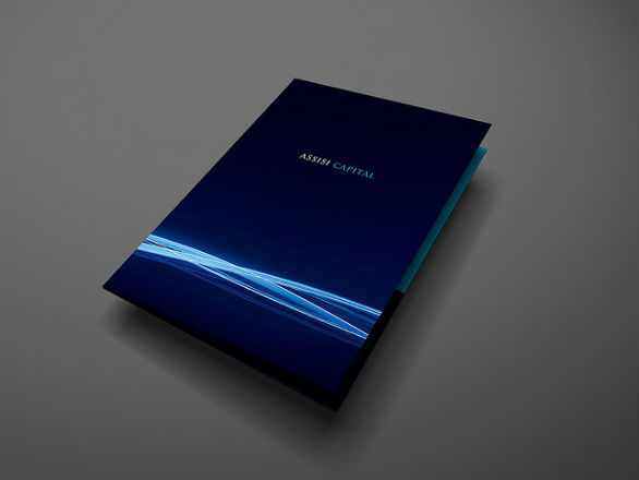 Presentation Folder Designs - Assisi Capital
