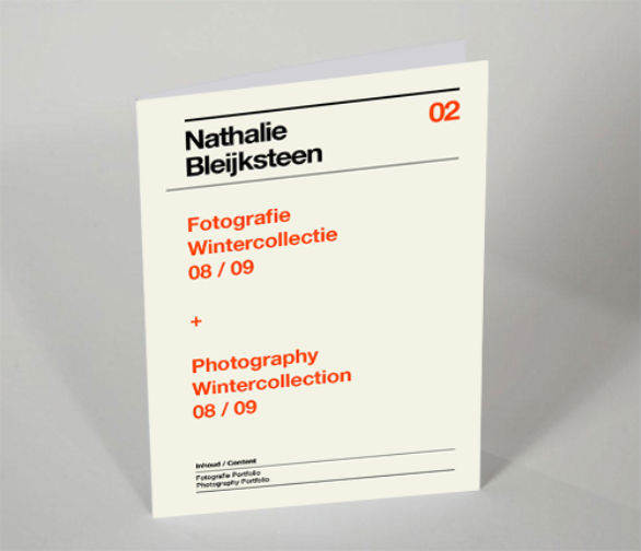 Presentation Folder Designs - Bleijksteen