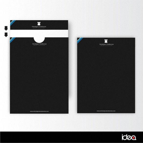 Presentation Folder Designs - Estrategica Tendencias