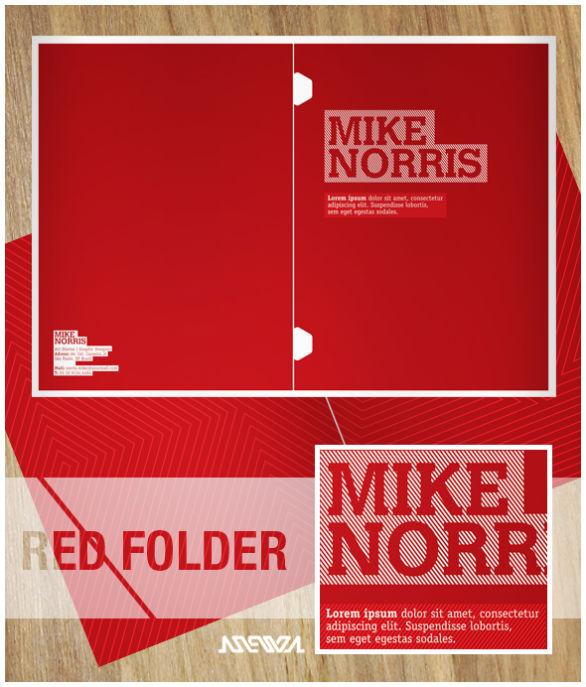 Presentation Folder Designs - Mike Norris