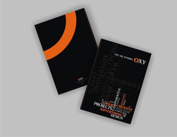 Presentation Folder Designs - OXY Folder