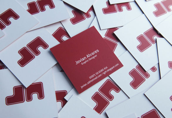 Square Business Card - My Logo