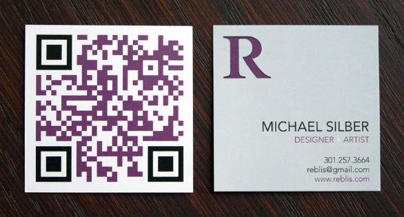 Square Business Card - Reblis
