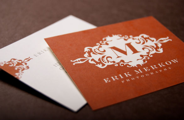 Square Business Card - Erik Merkow