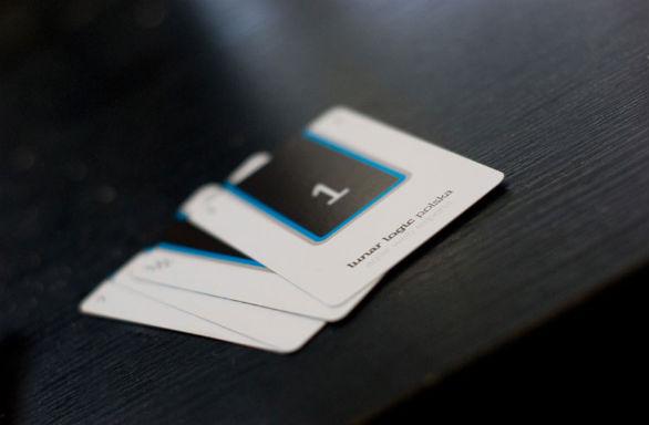 Square Business Card - Lunar Logic Polska