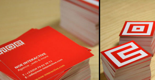 Square Business Card - NOE Interactive