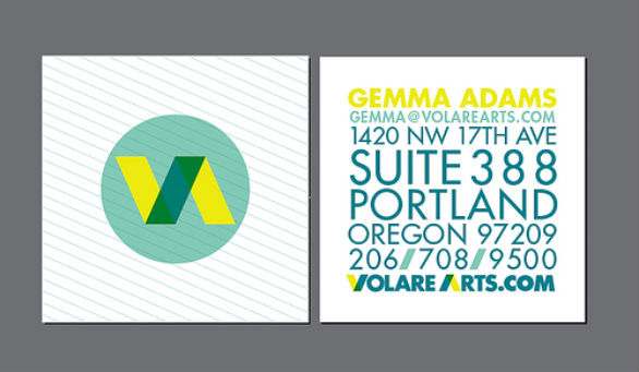 Square Business Card - Gemma Adams
