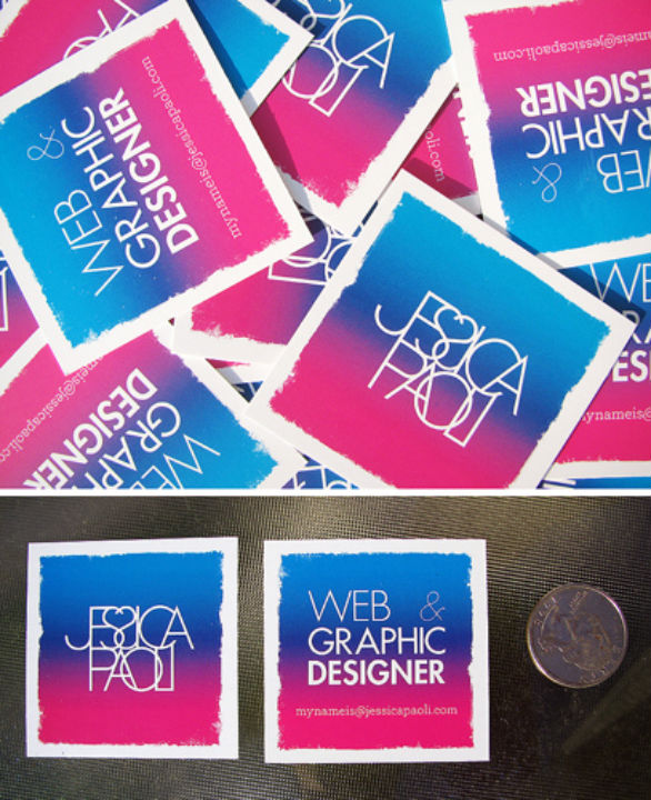 Square Business Card - Jessica Paoli