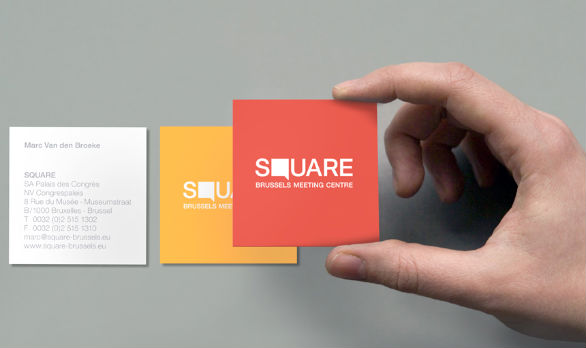 Square Business Card - Square