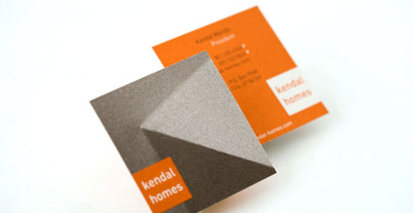 Square Business Card - KENDAL HOMES