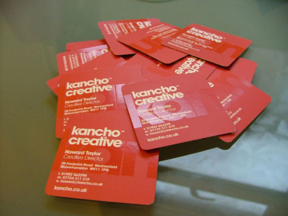 Square Business Card - Kancho Creative