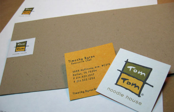 Square Business Card - TomTom Noodle House