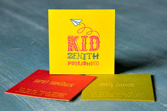 Square Business Card - Kid Zenith Publishing