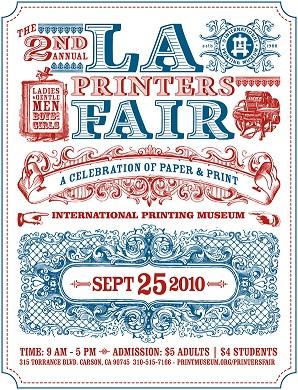 LA Printers Fair Flyer