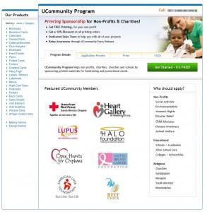 UCommunity Page